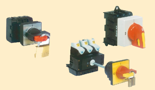 ручные переключатели GANZ GK20..GK115